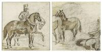 chevaux ardennais by théodore géricault