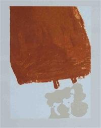 mit fett gefüllte skulptur, pl. 19 (from schwurhand) by joseph beuys