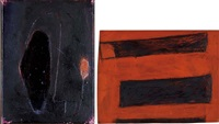 senza titolo (2 works) by paolo iacchetti