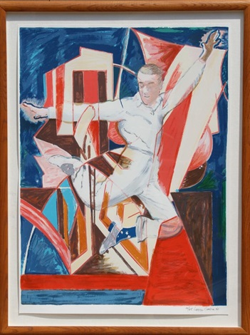 astaire in the air by larry rivers