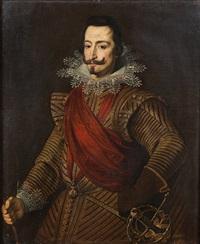 portrait d'un chevalier de la toison d'or by bartolomé gonzalez