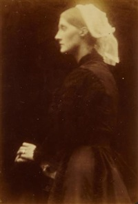 mrs. herbert duckworth, september by julia margaret cameron