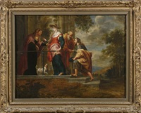 la visitation by willem van herp the elder