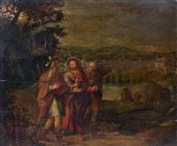 les pèlerins d'emmaüs by flemish school (16)
