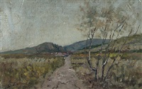paesaggio by guido beltrami