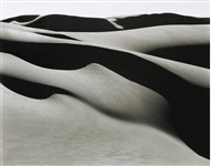 dunes, oceano by edward weston