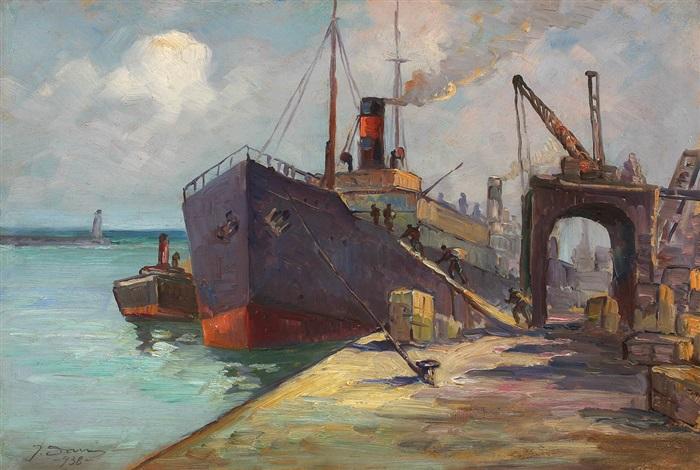 pier in constanta by dan ialomiteanu