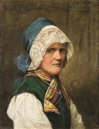bavarian woman by emilie dukszynska von dukszta