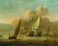 dutch shipping off amsterdam by adam silo