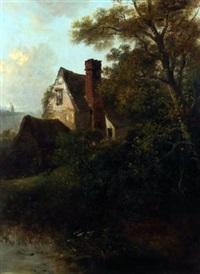 a suffolk farmstead by edward robert smythe