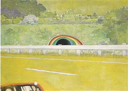 artwork by peter doig