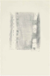 manhattan 3 (2nd stone) by lyonel feininger
