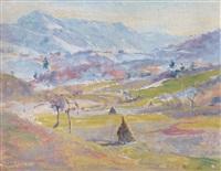 paesaggio e covoni by tony piccolotto