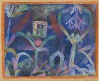 fenster im garten (window in the garden) by paul klee