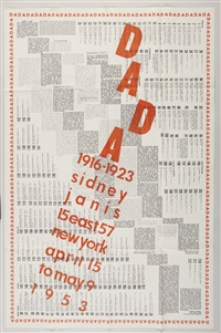 design for dada 1916-1923 by marcel duchamp