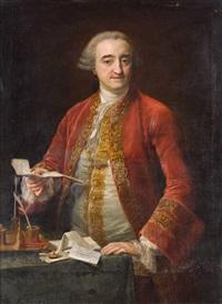 retrato de manuel de roda by pompeo girolamo batoni