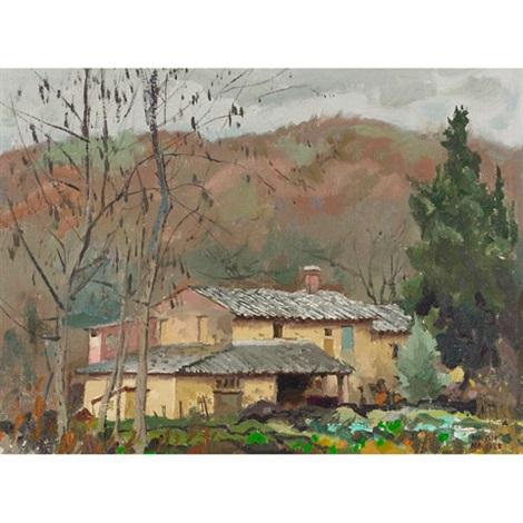tuscan farmhouse by george franklin arbuckle