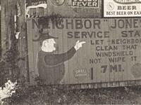 neighbor jones service by walker evans