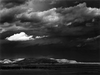 the edge of great plains, near cimarron, new mexico by ansel adams