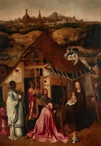l'adoration des mages by hieronymus bosch