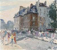 les maisons de la place dauphine du pont neuf, paris by paul jean anderbouhr