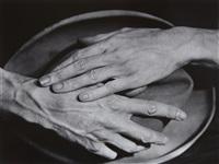 jean cocteau's hands by berenice abbott