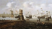 the capture of damietta by cornelis claesz van wieringen