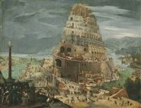 the tower of babel by abel grimmer