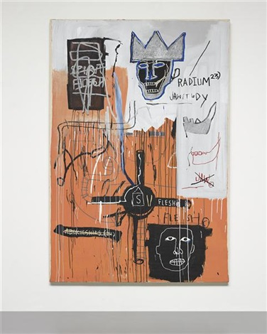 radium 23 by jean michel basquiat