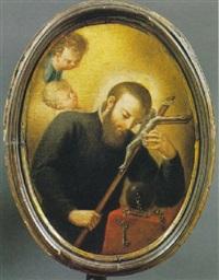 s. giovanni di matha in preghiera by gaetano lapis