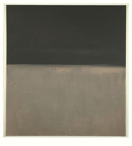 untitled black on gray by mark rothko