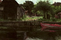 a summer's day on the river by john henry inskip