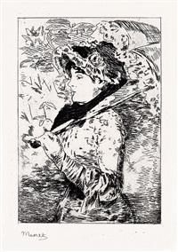 jeanne (le printemps) by édouard manet