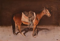 study for a stockman's life by bryan westwood