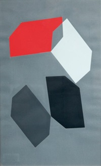 gris rouge by jacques mennessons