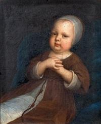 portrait de jeune enfant en habit de franciscain by french school (17)