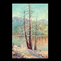 by the lake by benjamin george vaganoff