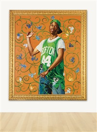 st. cajetan thiene by kehinde wiley
