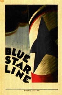 blue star line by marcal artkaud