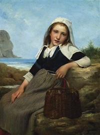 le retour de la pêche by charles victor thirion
