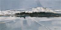 冬日雪景 (snow scene) by bai yuping
