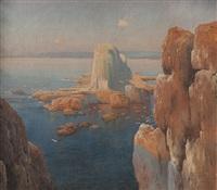 costa con acantilados by carlos maría de santiago