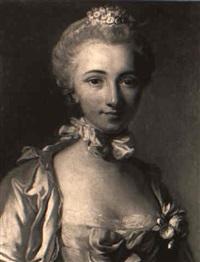 portrait de femme by pierre allais