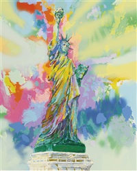 lady liberty by leroy neiman