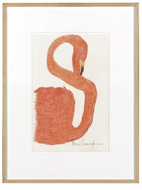 untitled (coral swan) by merce cunningham