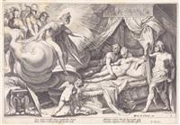 szenen aus ovids metamorphosen (19 works after hendrick goltzius) by robert willemsz. de baudous