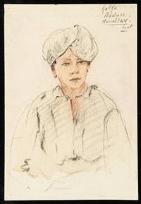 portrait de kalfa by adrien jean le mayeur de merprés