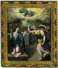 annunciazione alla madonna by girolamo mazzola bedoli