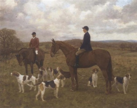 the monmouthshire hunt by frances mabel hollams