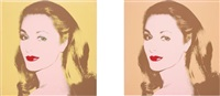untitled (the ambassador's wife) (in 2 parts) by andy warhol